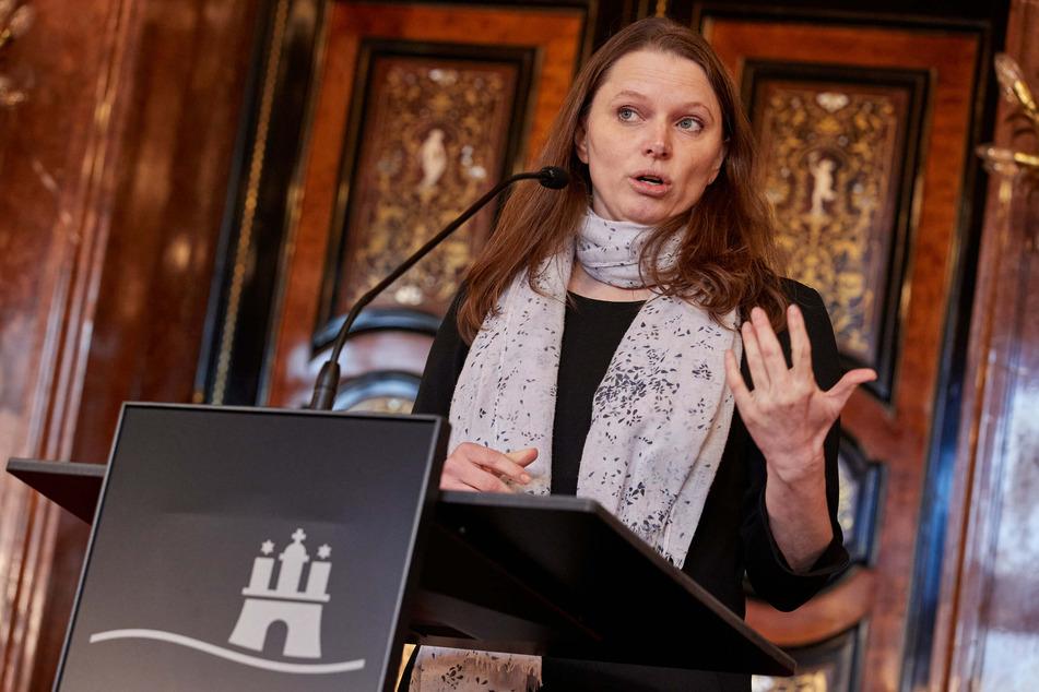 Melanie Leonhard (SPD), Hamburgs Senatorin für Arbeit, Gesundheit, Soziales, Familie und Integration, hat vor einer Zeit ohne Priorisierung und ohne Impfstoff gewarnt. (Archivfoto)