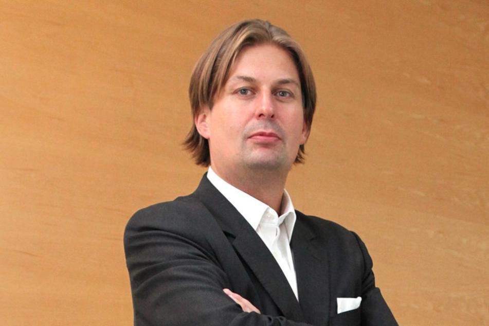 Maximilian Krah (40) trat im September 2016 aus der CDU aus.