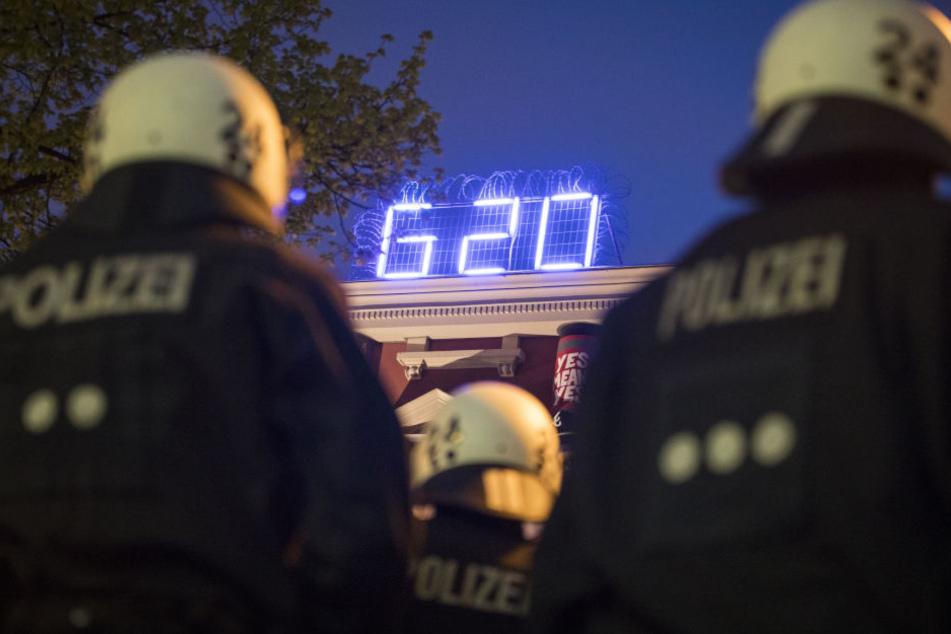 Mindestens 15.000 Polizisten sollen beim beim G20-Gipfel Sicherheit garantieren.