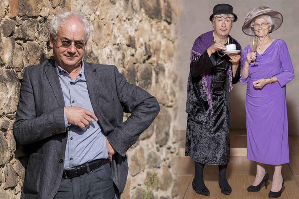 Tom Pauls teilt mit seiner Bühnenfigur Ilse Bähnert die Liebe zum Kaffee.