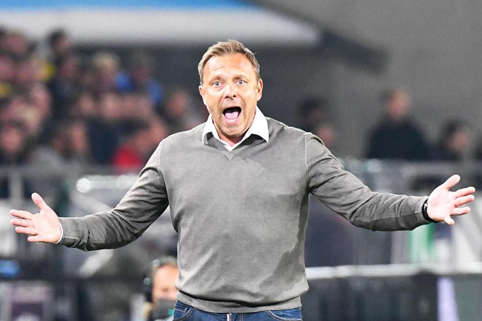 Hannover-96-Coach André Breitenreiter ist gegen die zunehmende Kommerzialisierung im Fußball.