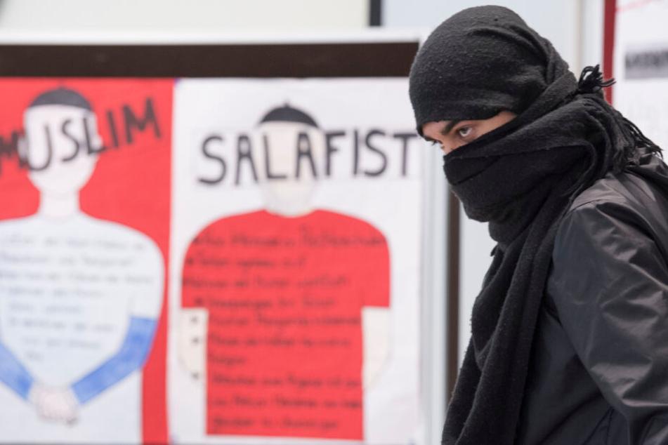 Schülerprojekt gegen Salafismus.