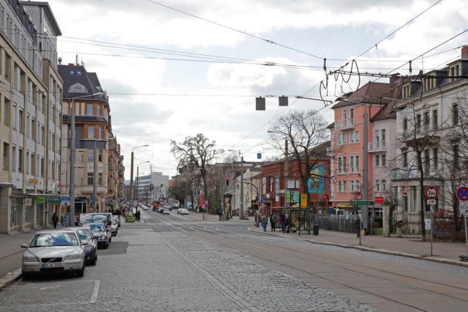 Die Stadtverwaltung sollte über den geplanten Ausbau der Königsbrücker Straße in  der Neustadt informieren. Noch fehlt ein Termin.