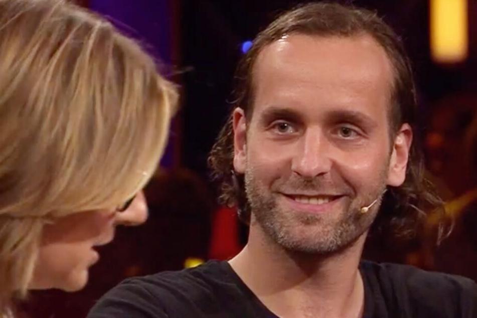 Handball-Star Silvio Heinevetter war zum ersten Mal in einer Talkshow zu Gast.