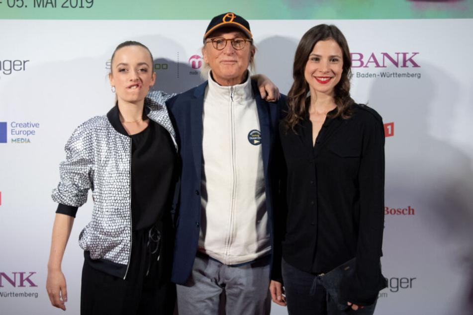 Otto am Donnerstagabend zusammen mit Nellie Thalbach (links) und Aylin Tezel (rechts).