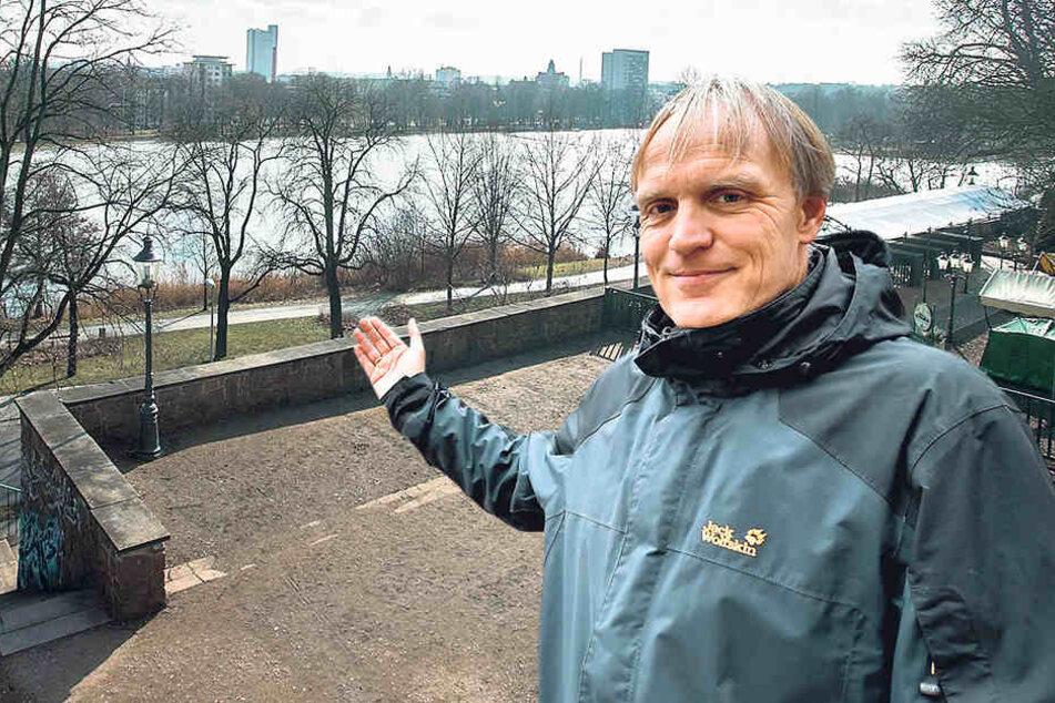 """Grünen-Stadtrat Bernhard Herrmann (51) weiß: """"Kreatives Denken ist wichtig, da darf es keine Schranken geben."""""""