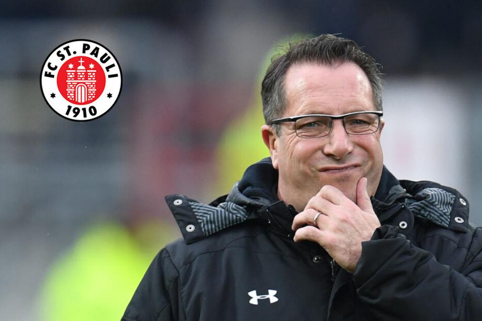 St. Pauli-Trainer Kauczinski bangt vor Ingolstadt-Spiel um zwei Stammspieler