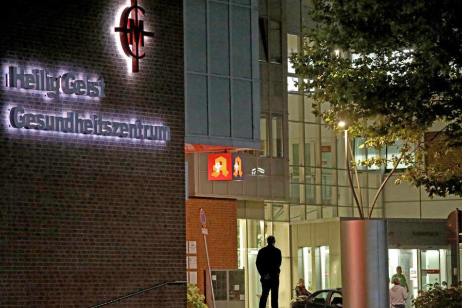 Die Apotheke gehört zum Heilig Geist Gesundheitszentrum.