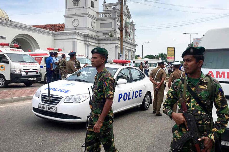 Sri Lanka: Explosionen in Kirchen und Hotels - Mindestens 137 Tote