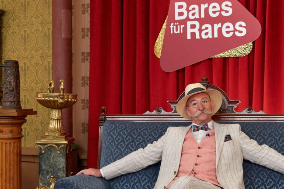 """Horst Lichter zeigte seine Lieblingsstücke und am 31. Mai folgt eine Abendausgabe von """"Bares für Rares""""."""