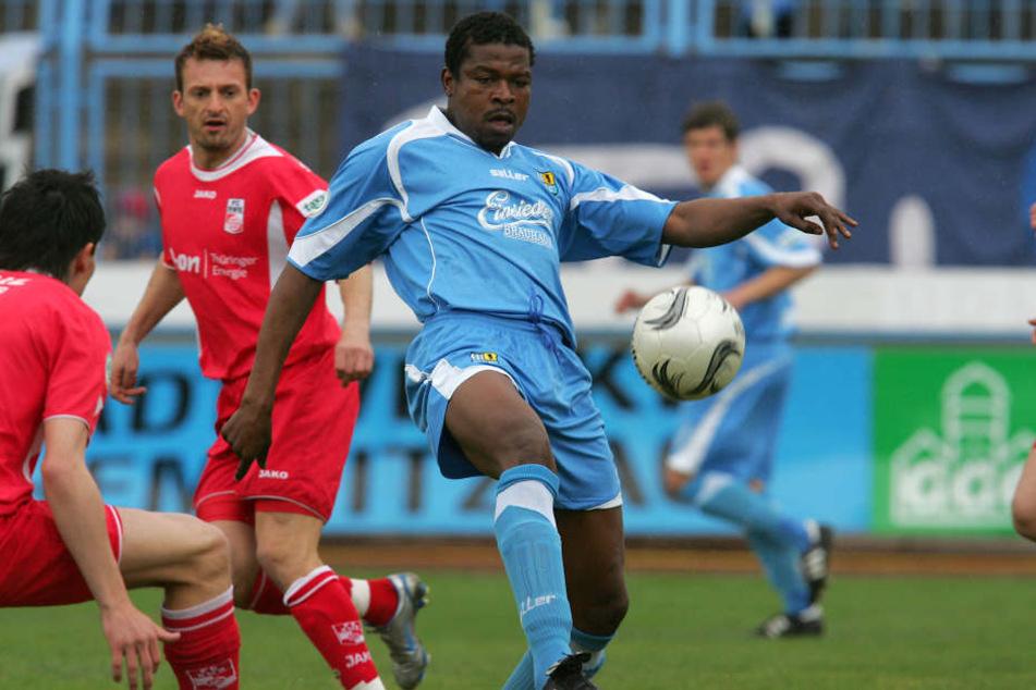 101 Spiele absolvierte er für den Chemnitzer FC.