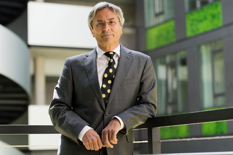 Für TU-Rektor Hans Müller-Steinhagen hat das Vorhaben vor allem in Dresden Brisanz.