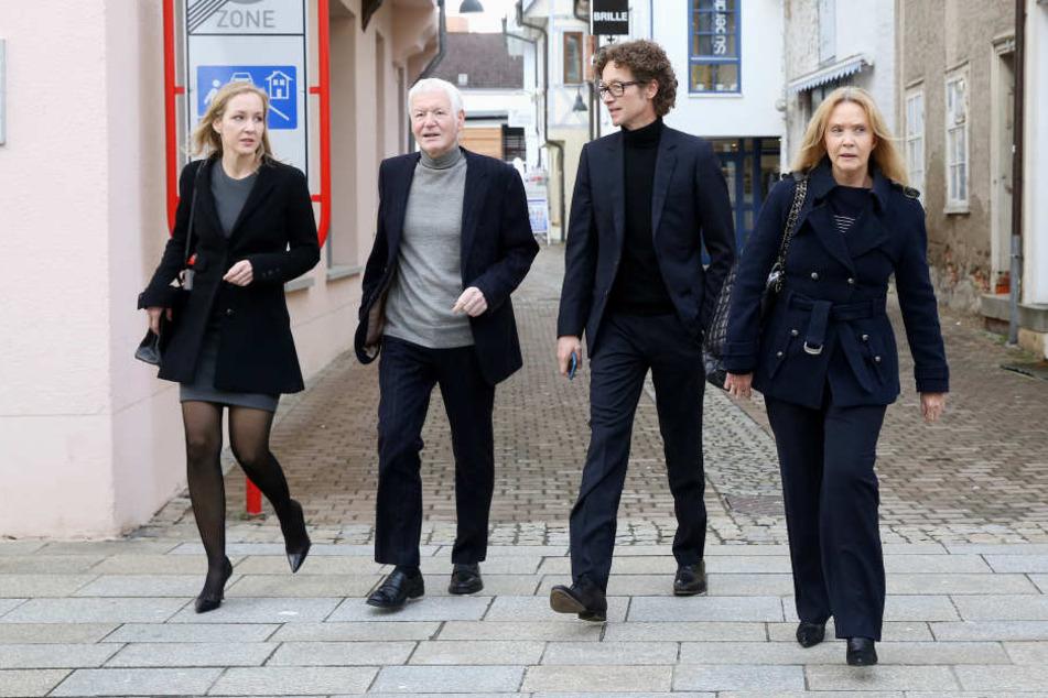Ein Zivilverfahren gegen die Familie Schlecker wird in Zwickau verhandelt.