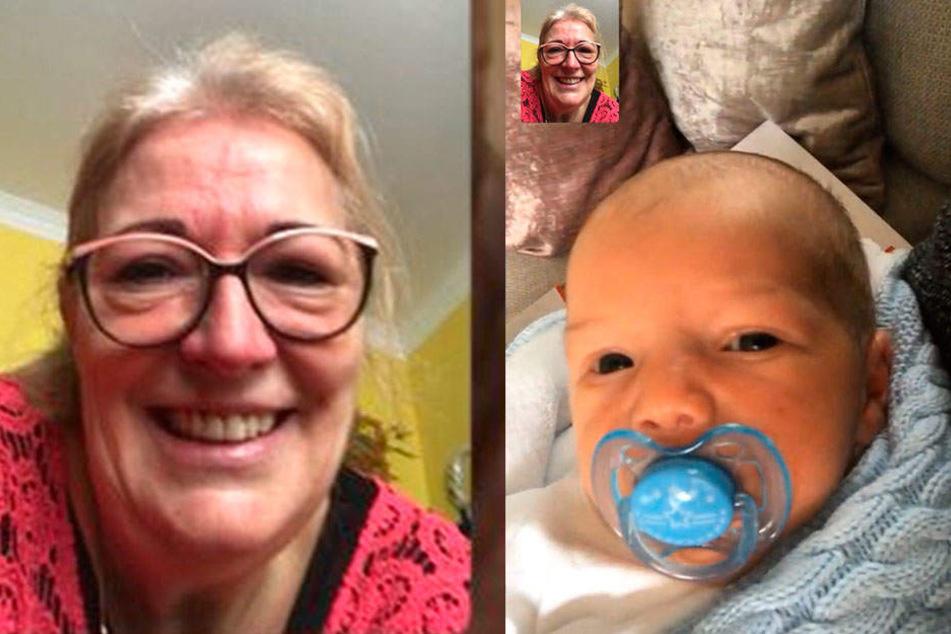 Barbara Lässig (60) freut sich über ihr viertes Enkelkind Damian.