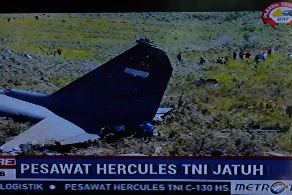 Beim Landeanflug auf den Airport in Wamena zerschellte die Maschine.
