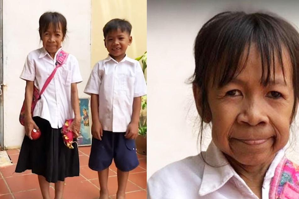 Bo Rakching sieht eher wie die Großmutter ihres Bruders Chea aus - doch das ist sie bei Weitem nicht.