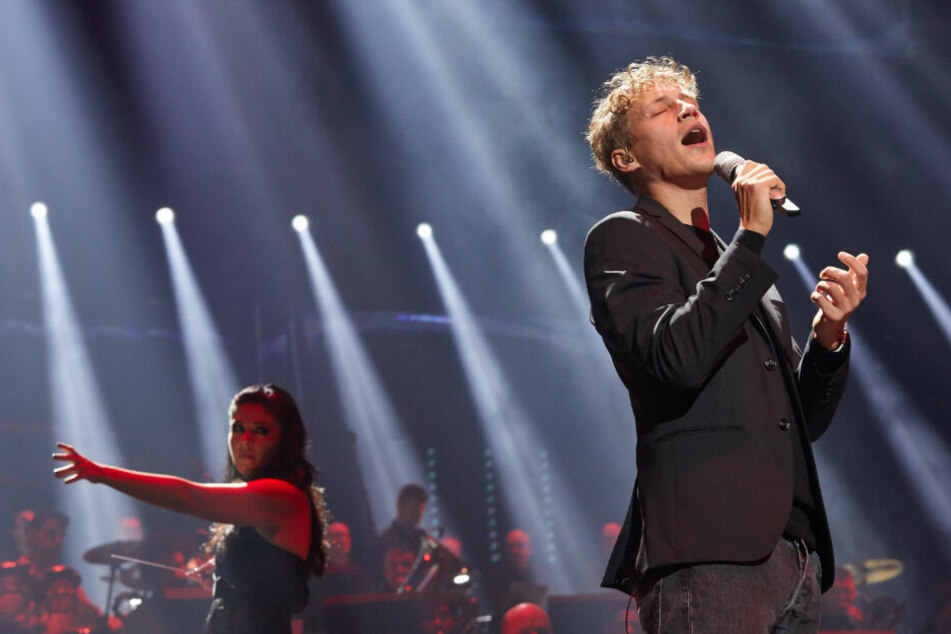 Tim Bendzko (34) bei einem Auftritt in Hamburg.