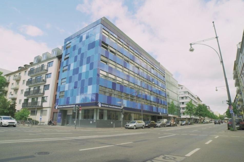 Die Deutsche Familienversicherung am Reuterweg in Frankfurt.