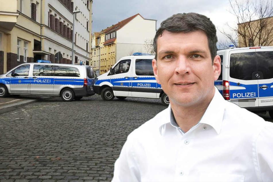 Der Landrat des Landkreises Leipzig fordert von Innenminister Roland Wöller, wieder ein Polizeirevier in Wurzen einzurichten.
