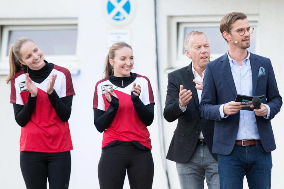 Schaffen es die beiden Studentinnen, die Profi-Sportlerinnen umzuhauen?