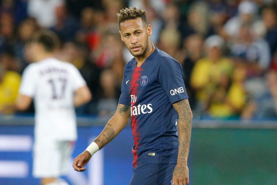 Neymar wechselte 2017 für die Rekordsumme von 222 Millionen Euro vom FC Barcelona zu Paris St. Germain.