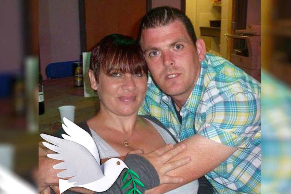 Kenny Slocombe mit Kims Tante Lorraine: Die beiden sollen nun ein Paar sein.