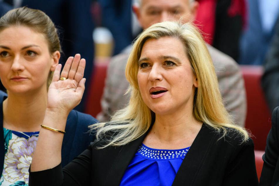 Melanie Huml (CSU), Gesundheitsministerin von Bayern, lehnt eine Impfpflicht ab.