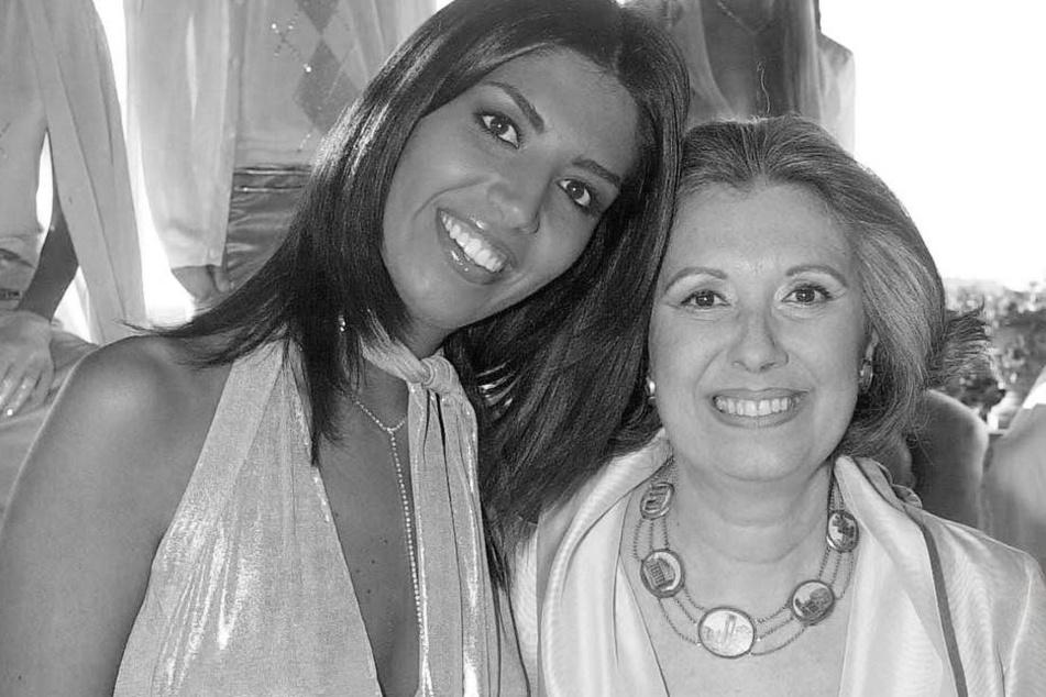 Laura Biagiotti (re.) ist in Rom an den Folgen eines Herzinfarktes gestorben.