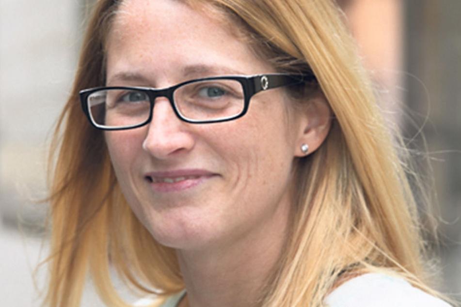"""Katrin Mitte (45),Krankenschwester aus Annaberg, verrät nicht, wo sie ihr Kreuzchen setzt, aber: """"Ich habe mich entschieden und gehe auf jeden Fall zur Wahl. Auf alle Fälle wähle ich nicht die AfD."""""""