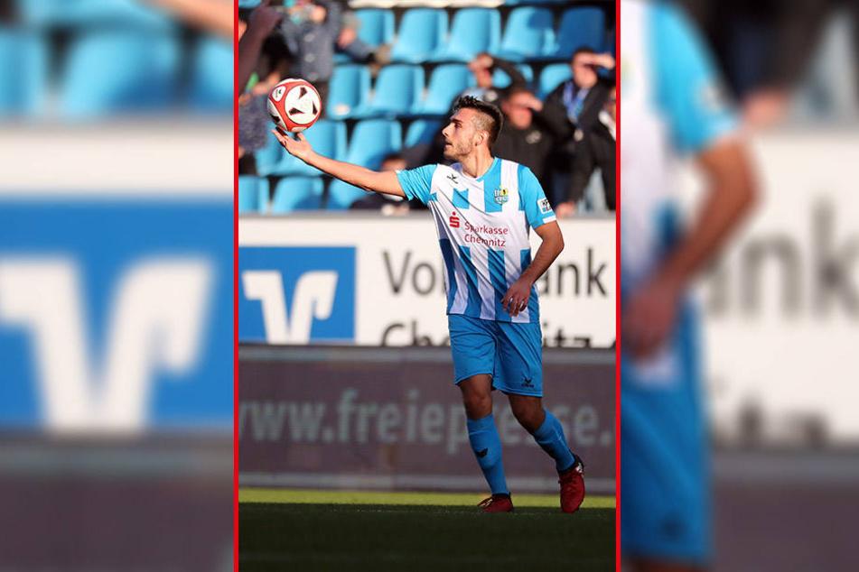 Ioannis Karsanidis war beim CFC weniger am Ball, als ihm lieb war. Das soll sich im neuen Jahr ändern.