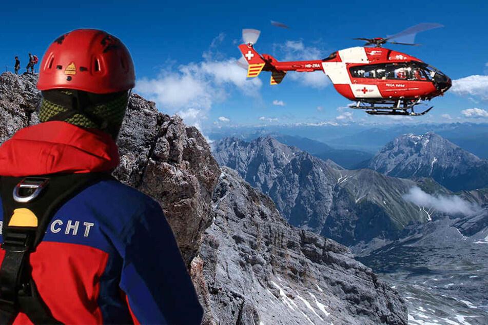 Mann stürzt auf Zugspitze 250 Meter in den Tod