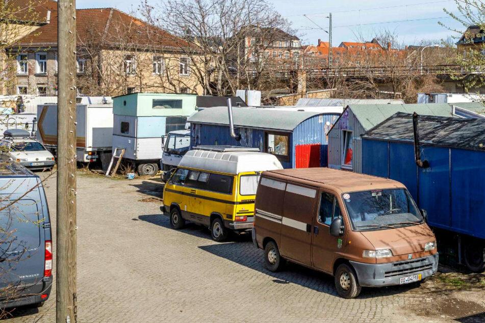Wohnen im Wagen soll in Dresden bald an vielen Plätzen möglich sein!