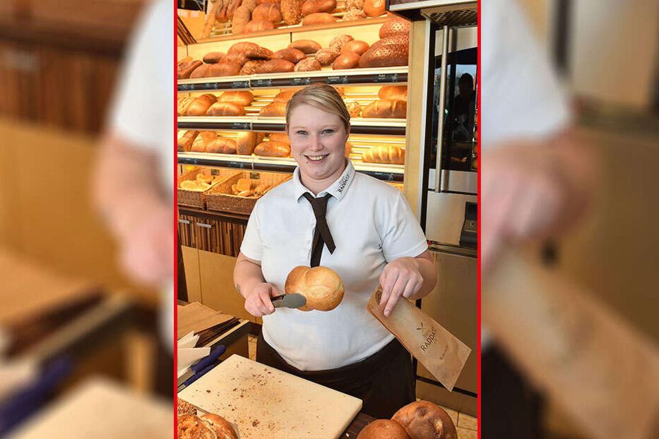 Nicole Schneider mag ihren Job als Verkäuferin. Angst vor der Zukunft hat sie nicht.