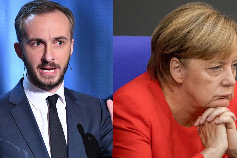 Wegen Schmähgedicht! Jetzt will Böhmermann Merkel verklagen