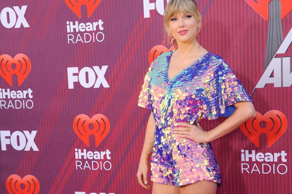 Taylor Swift auf dem roten Teppich 2019.