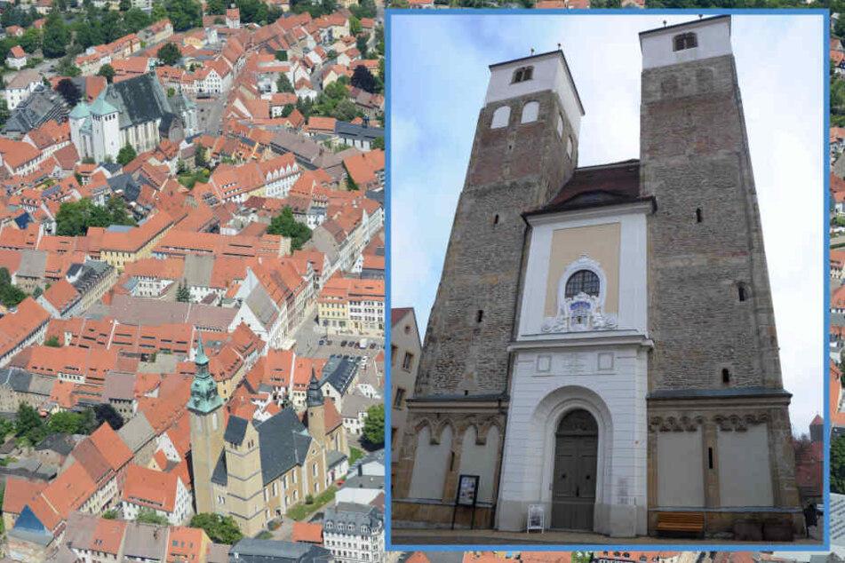 Die Nikolaikirche in Freiberg ist bei Brautpaaren sehr beliebt.