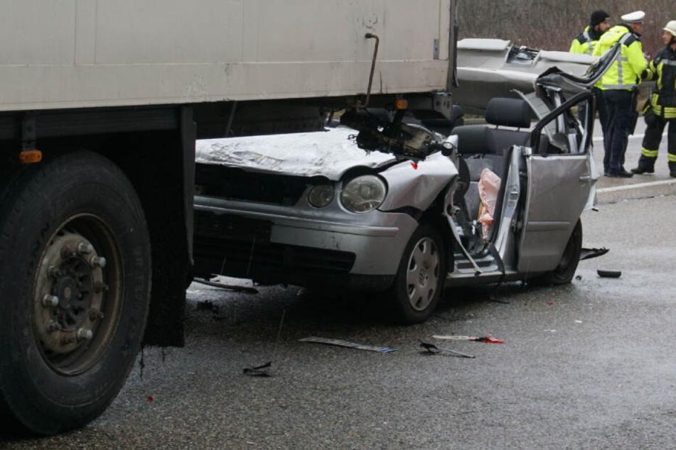 Horror-Unfall: Hubschrauber im Einsatz, A8 ist gesperrt