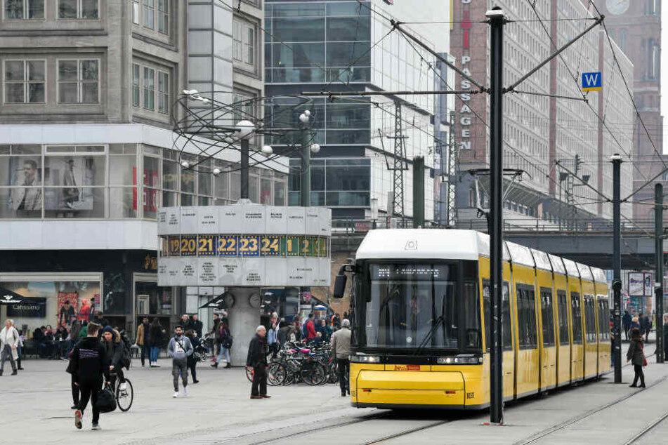 Der Alexanderplatz rückt immer wieder in den Blickpunkt von Gewalt.