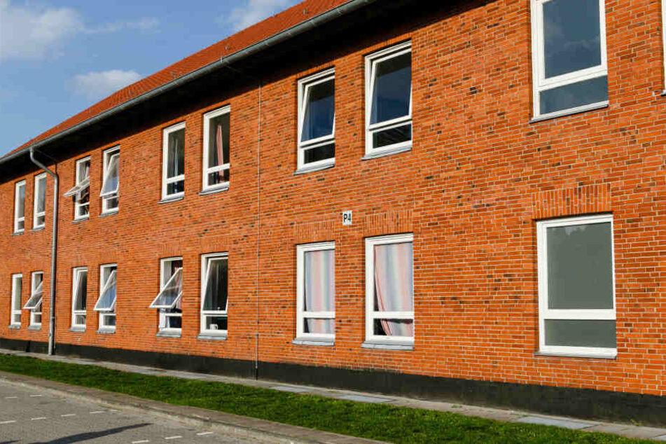 Die Flüchtlingsunterkunft in Boostedt