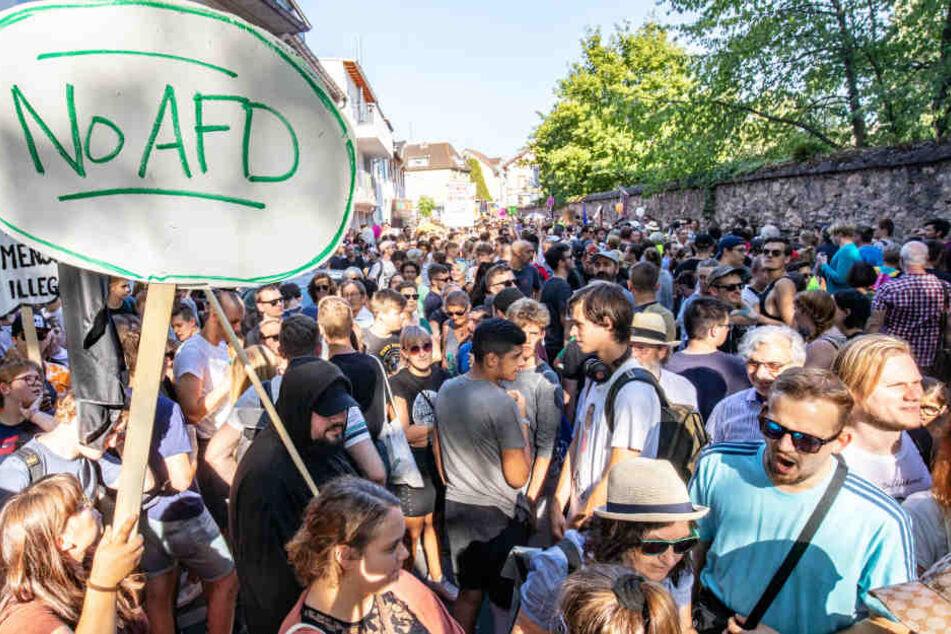 Nach Anti-AfD-Protest: Grünen-Politikerin mit Brandanschlag bedroht