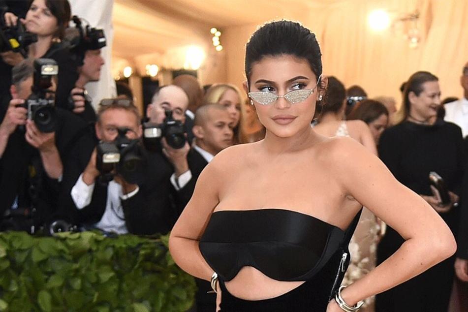 "Kylie Jenner bei der ""Met Gala"" 2018 in New York."