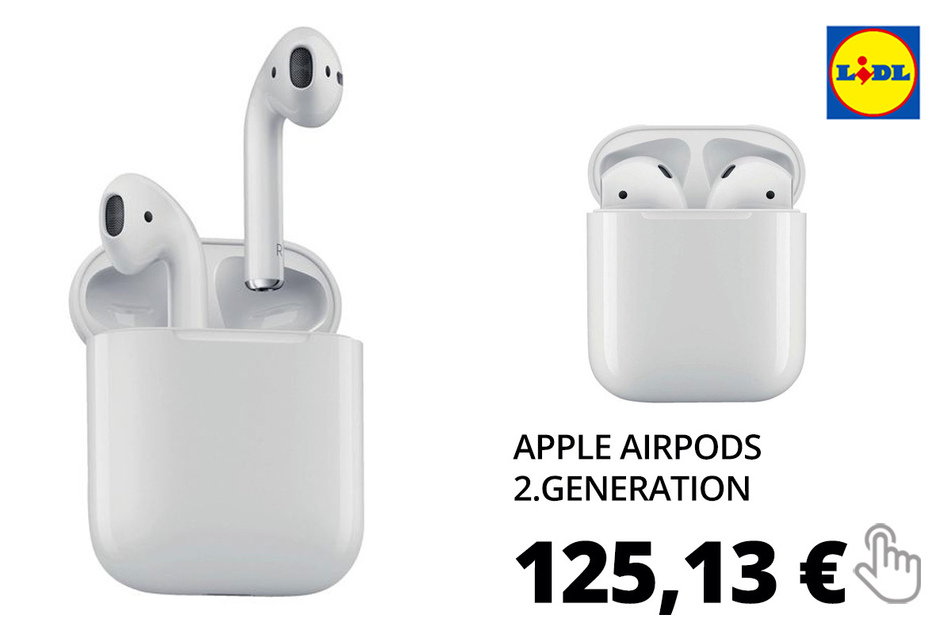 Apple Airpods 2.Generation mit Ladecase MV7N2ZM-A
