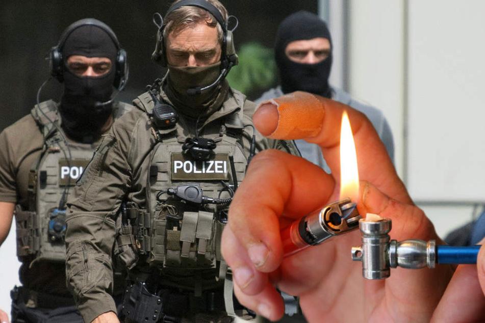 Die Polizei stellte Crack mit einem Straßen-Verkaufswert von über 14.000 Euro sicher (Symbolbild).