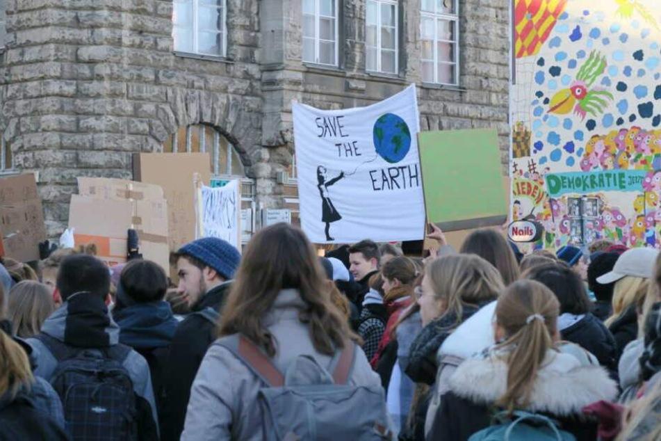 Leipzigs Schüler wollen am heutigen Freitag wieder auf die Straße gehen.