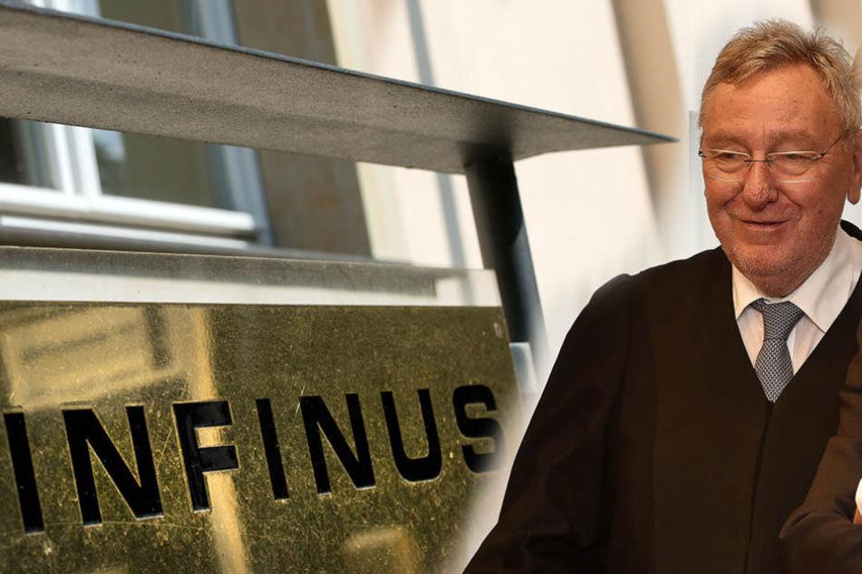 Der bekannte Wirtschaftsstrafanwalt Rainer Brüssow (68) vertritt im Infinus-Prozess Kewan Kadkhodai. Jetzt aber liegt der Verteidiger im Koma.
