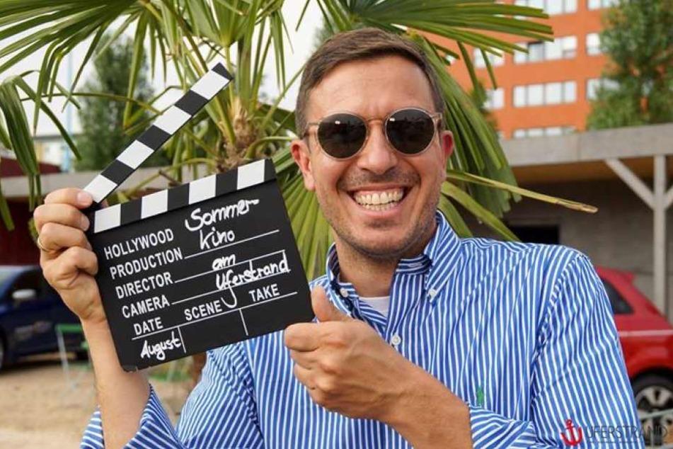 Henrik Bonesky (40) schickt das Sommerkino am Uferstrand in die nächste Runde! (Archivbild)