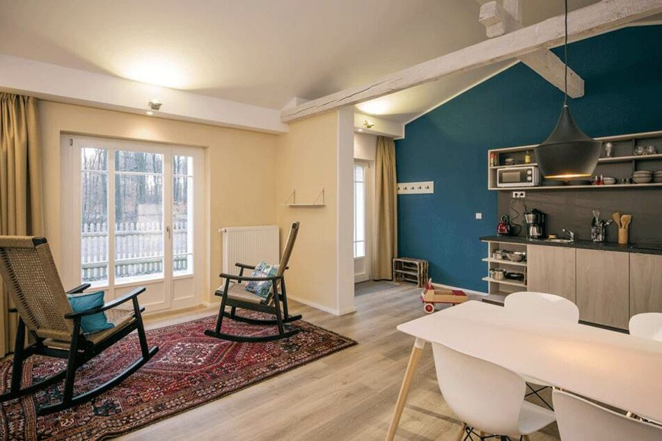 Die kleinen Suiten in der Dresdner Heide sind praktisch ausgestattet.