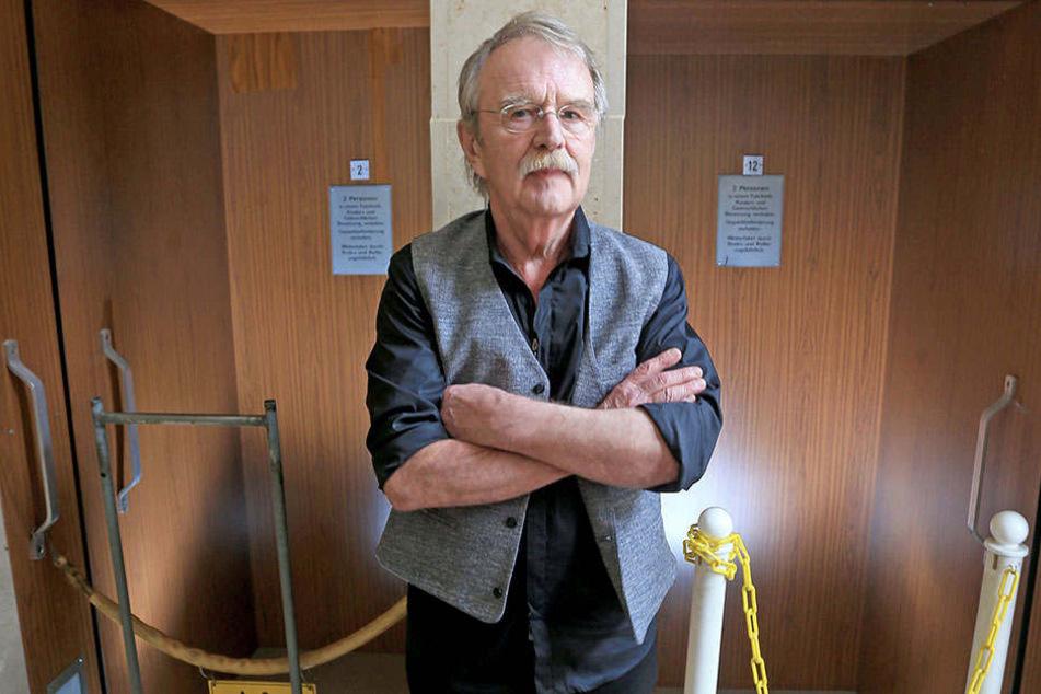 FDP-Stadtrat Dieter Füsslein (76) findet Beleuchtung und Bemalung überflüssig.