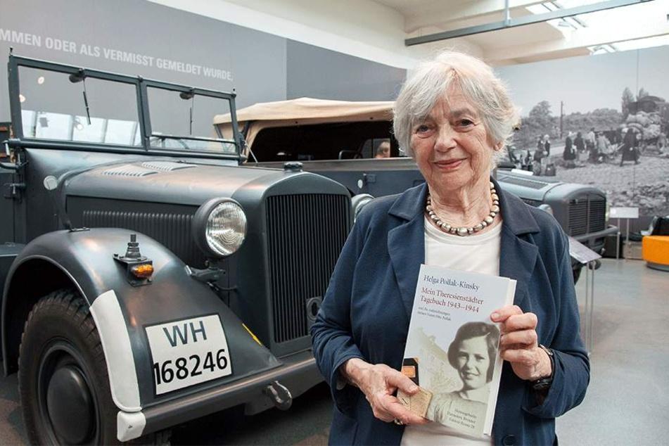 Helga Pollak-Kinsky (88) verfasste über ihre Zeit in Theresienstadt ein Buch.