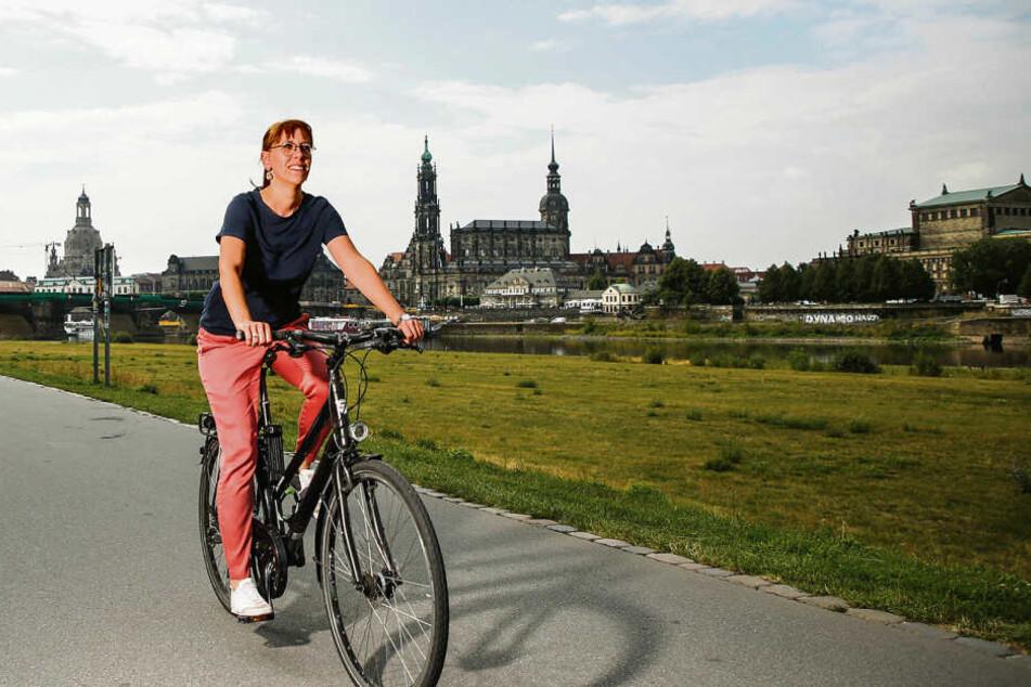 Täglich mit dem Rad unterwegs: Ginge es nach Meier, hätten Radwege einen höheren Stellenwert.